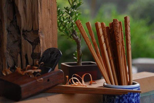 檜木手工筷DIY